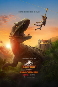 Download NetFlix Jurassic World: Camp Cretaceous (Season 1) Dual Audio {Hindi-English} 720p WeB-DL HD [200MB]