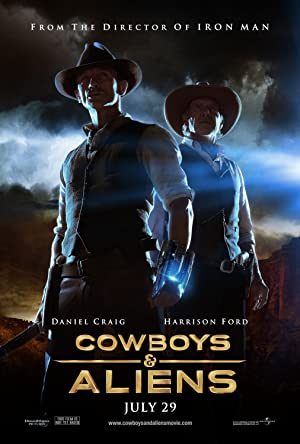 Download Cowboys & Aliens (2011) Dual Audio {Hindi-English} BluRay
