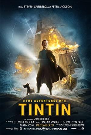 Download The Adventures of Tintin (2011) Dual Audio {Hindi-English}