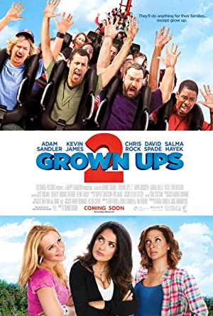 Download Grown Ups 2 (2013) Dual Audio {Hindi-English}