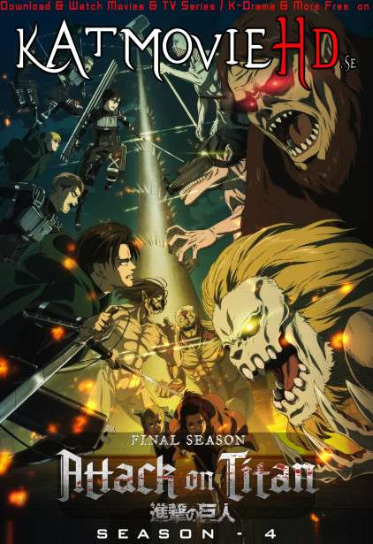 Attack on Titan (Season 4) Web-DL 1080p / 720p /480p [HD] Japanese [With English Subtitles] [Episode 5 Added]