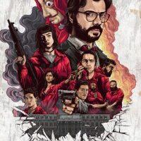 Download Money Heist (Season 1 – 4) Dual Audio {Hindi-English} 720p WeB-HD [350MB]